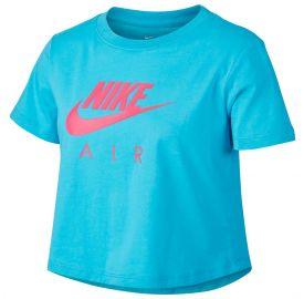 Nike Παιδική κοντομάνικη crop μπλούζα